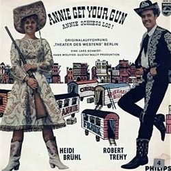 Annie Get Your Gun Soundtrack (Irving Berlin, Irving Berlin, Original Cast) - CD cover