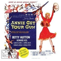 Annie Get Your Gun Colonna sonora (Irving Berlin, Irving Berlin, Original Cast) - Copertina del CD