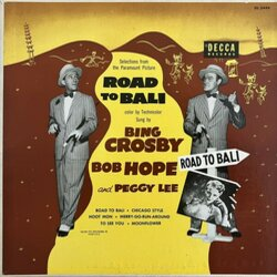Road to Bali サウンドトラック (Johnny Burke, Bing Crosby, Bob Hope, Peggy Lee, Jimmy Van Heusen) - CDカバー