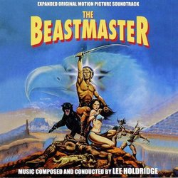 The Beastmaster Bande Originale (Lee Holdridge) - Pochettes de CD