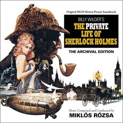 The Private Life of Sherlock Holmes Soundtrack (Miklós Rózsa) - Carátula
