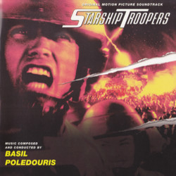 Starship Troopers Soundtrack (Basil Poledouris) - Carátula