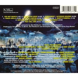 Starship Troopers Soundtrack (Basil Poledouris) - CD Trasero