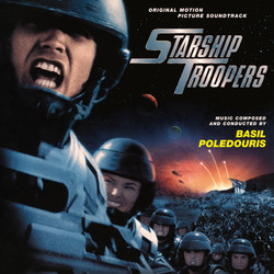 Starship Troopers Soundtrack (Basil Poledouris) - CD cover
