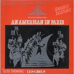 An American in Paris / Les Girls 声带 (George Gershwin, Ira Gershwin, Cole Porter, Cole Porter) - CD封面