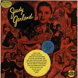 Judy Garland: If You Feel Like Singing, Sing 声带 (Irving Berlin, Irving Berlin, Judy Garland, Mack Gordon, Lorenz Hart, Jerome Kern, Cole Porter, Cole Porter, Richard Rodgers, George Stoll, Harry Warren) - CD封面