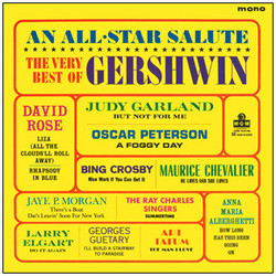 The Very Best of Gershwin Soundtrack (Various Artists, George Gershwin, Ira Gershwin) - CD-Cover