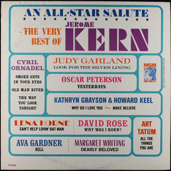 The Very Best of Jerome Kern Soundtrack (Various Artists, Jerome Kern) - CD cover