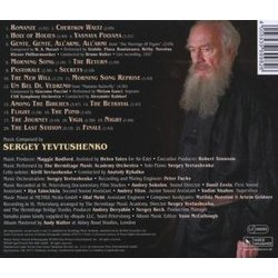 The Last Station Colonna sonora (Sergei Yevtushenko) - Copertina posteriore CD
