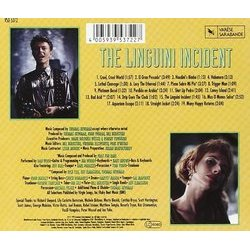 The Linguini Incident Soundtrack (Thomas Newman) - CD Back cover