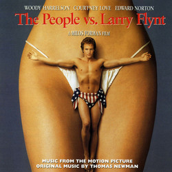 The People vs. Larry Flynt Soundtrack (Various Artists, Thomas Newman) - Car�tula