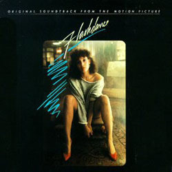 Flashdance Soundtrack (Various Artists) - CD cover