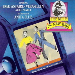 The Belle of New York Soundtrack (Fred Astaire, Anita Ellis, Johnny Mercer, Harry Warren) - CD cover