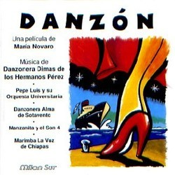 Danzón Soundtrack (Pepe Luis, Felipe Pérez) - CD cover