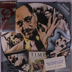 An Evening with Groucho Soundtrack (Harold Arlen, Irving Berlin, Irving Berlin, E.Y. Harburg, Grace Kahn, Gus Kahn, Bert Kalmar, Bert Kalmar, Groucho Marx, Harry Ruby) - CD cover
