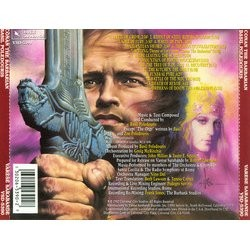 Conan the Barbarian Soundtrack (Basil Poledouris) - CD Trasero