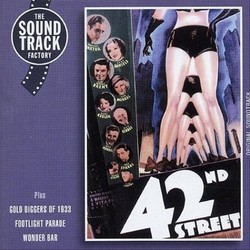 42nd Street サウンドトラック (Original Cast, Al Dubin, Sammy Fain, Irving Kahal, Harry Warren) - CDカバー
