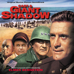 Cast a Giant Shadow Soundtrack (Elmer Bernstein) - CD cover
