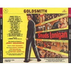 Studs Lonigan Soundtrack (Jerry Goldsmith) - CD-Rückdeckel