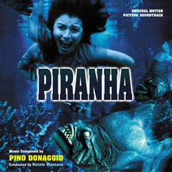 Piranha Soundtrack (Pino Donaggio) - CD cover