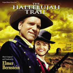 The Hallelujah Trail Soundtrack (Elmer Bernstein) - CD cover