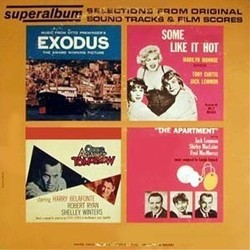 Film Music Site - Exodus / Some Like it Hot / Odds Against