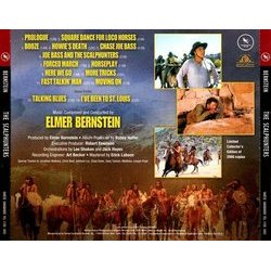 The Scalphunters Soundtrack (Elmer Bernstein) - CD Back cover
