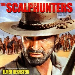 The Scalphunters Soundtrack (Elmer Bernstein) - CD cover