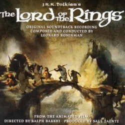 The Lord of the Rings Soundtrack (Leonard Rosenman) - Carátula