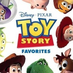Toy Story Favorites 聲帶 (Randy Newman) - CD封面