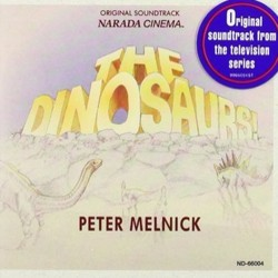 The Dinosaurs! Soundtrack (Peter Melnick) - CD cover