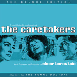 The Caretakers / The Young Doctors Soundtrack (Elmer Bernstein) - CD cover