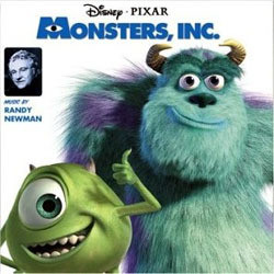Monsters, Inc. Soundtrack (Randy Newman) - CD cover