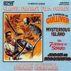 The 3 Worlds of Gulliver / Mysterious Island / The 7th Voyage of Sinbad / Jason and the Argonauts Bande Originale (Bernard Herrmann) - Pochettes de CD