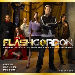 Flash Gordon Vol.1 Soundtrack (Michael Picton) - CD cover