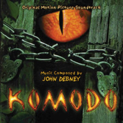 Komodo Soundtrack (John Debney) - CD cover