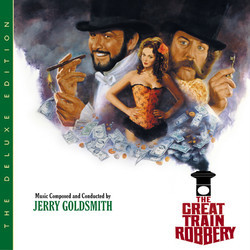 The Great Train Robbery 声带 (Jerry Goldsmith) - CD封面