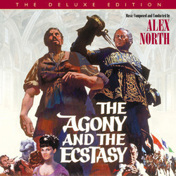 The Agony and the Ecstasy Bande Originale (Jerry Goldsmith, Alex North) - Pochettes de CD