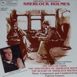 Sherlock Holmes Soundtrack (Patrick Gowers) - CD cover