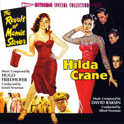 The Revolt of Mamie Stover / Hilda Crane Trilha sonora (Hugo Friedhofer, David Raksin) - capa de CD