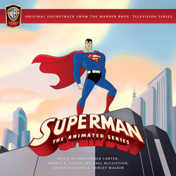 Superman: The Animated Series Ścieżka dźwiękowa (Kristopher Carter, Michael McCuistion, Harvey R.Cohen, Lolita Ritmanis, Shirley Walker) - Okładka CD