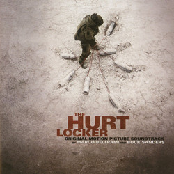 The Hurt Locker Soundtrack (Marco Beltrami, Buck Sanders) - CD cover