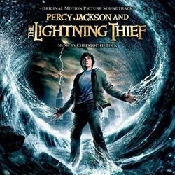 Percy Jackson & the Olympians: The Lightning Thief Soundtrack (Christophe Beck) - CD cover