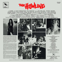 The Howling Soundtrack (Pino Donaggio) - CD Achterzijde