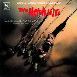 The Howling Soundtrack (Pino Donaggio) - CD cover