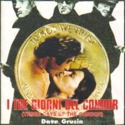 I Tre Giorni del Condor Soundtrack (Dave Grusin) - CD-Cover