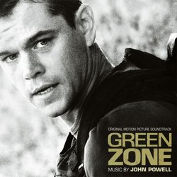 Green Zone Soundtrack (John Powell) - CD cover