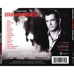 Edge of Darkness Soundtrack (Howard Shore) - CD Achterzijde
