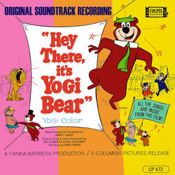 Hey There, it's Yogi Bear 声带 (Various Artists, Marty Paich) - CD封面