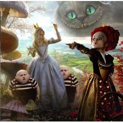 Alice in Wonderland 声带 (Danny Elfman) - CD-镶嵌